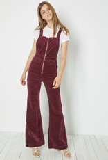 Rollas EastCoast Flare Overall Bordeaux Cord