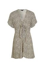 kivari Vale Leopard Tie Play Dress