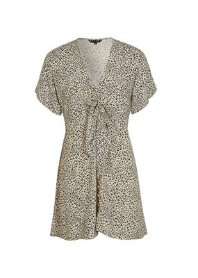 kivari Vale Leopard Tie Play Dress