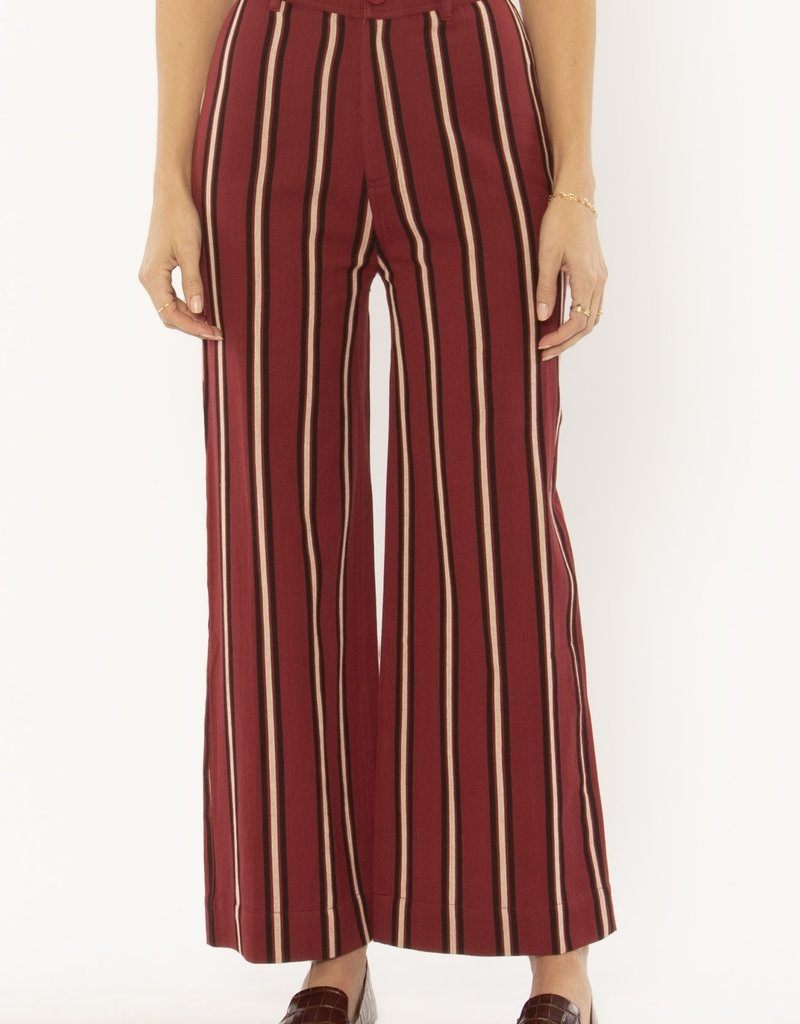Amuse Society Millie Woven Pant Fig