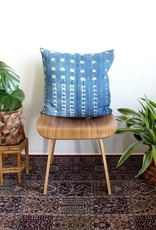 Norwegian Wood Square Indigo Pillow