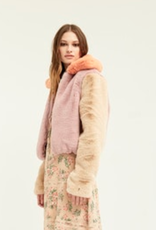 Boundless North Color Blocked Jacket Lavender Fog
