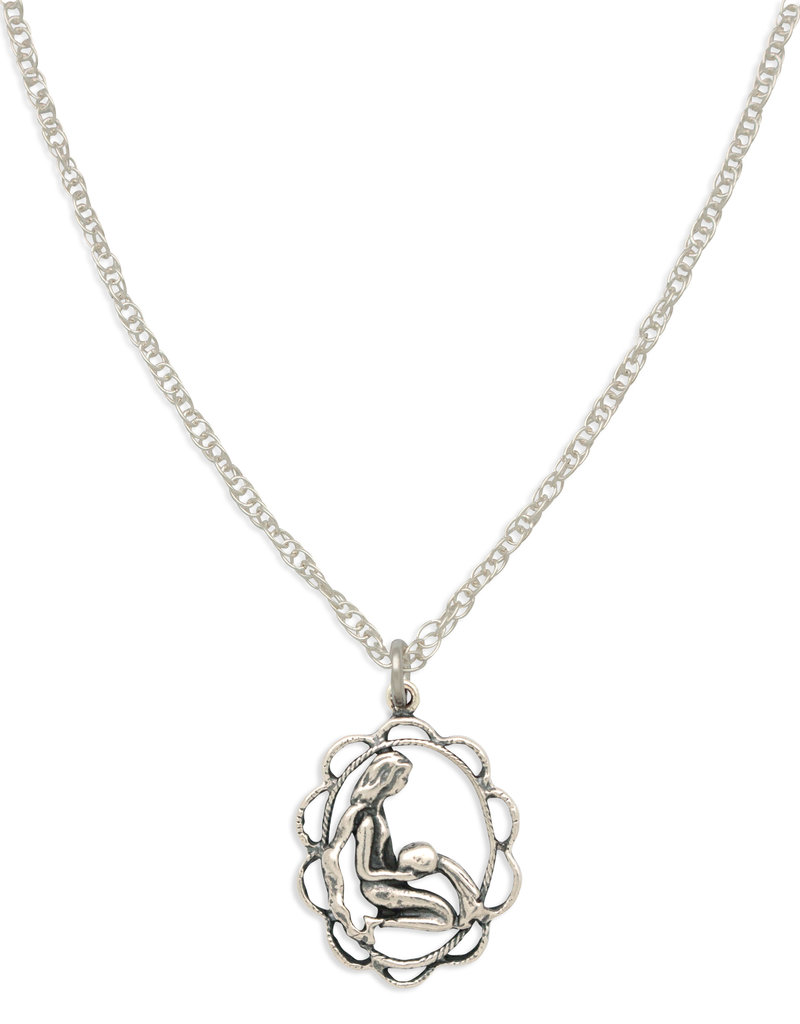 Hiouchi Jewels ZODIAC CHARM NECKLACE ~ AQUARIUS