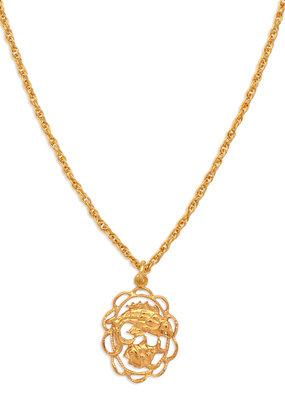 Hiouchi Jewels ZODIAC CHARM NECKLACE ~ PISCES