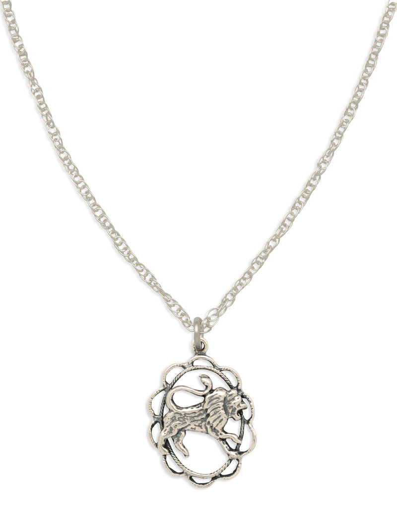 Hiouchi Jewels ZODIAC CHARM NECKLACE ~ LEO