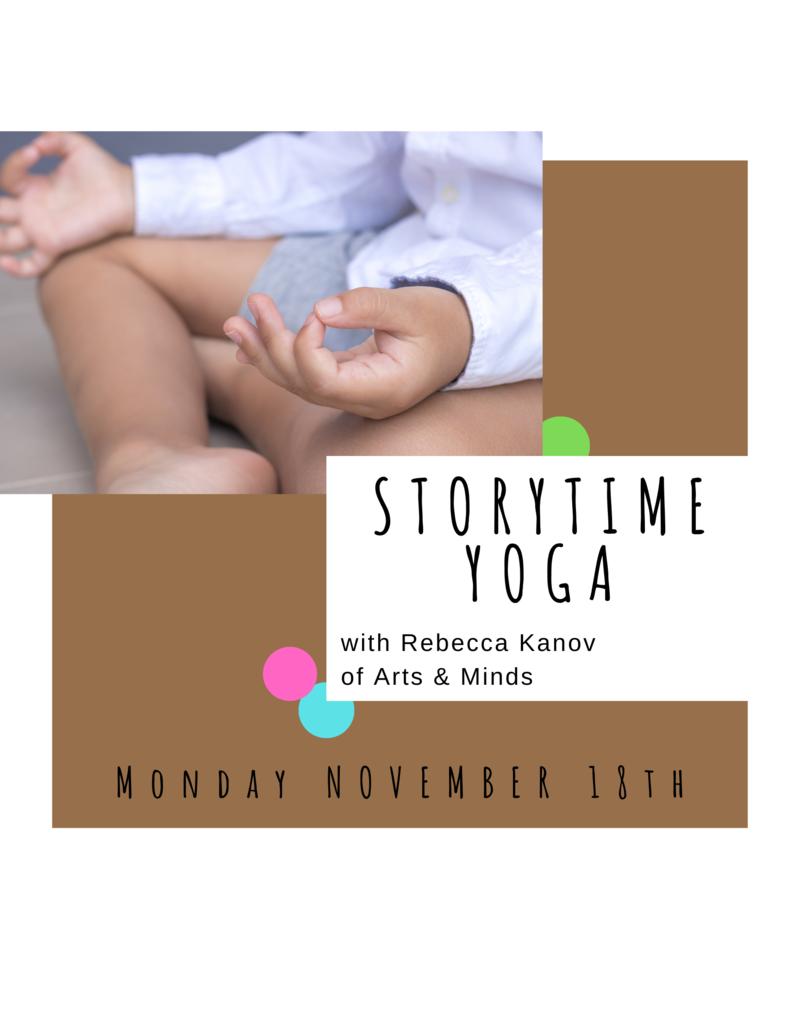 Nov 18: Storytime Yoga
