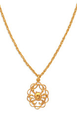Hiouchi Jewels ZODIAC CHARM NECKLACE ~ CANCER