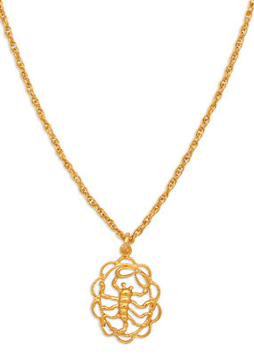 Hiouchi Jewels ZODIAC CHARM NECKLACE ~ SCORPIO