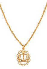 Hiouchi Jewels ZODIAC CHARM NECKLACE ~ LIBRA