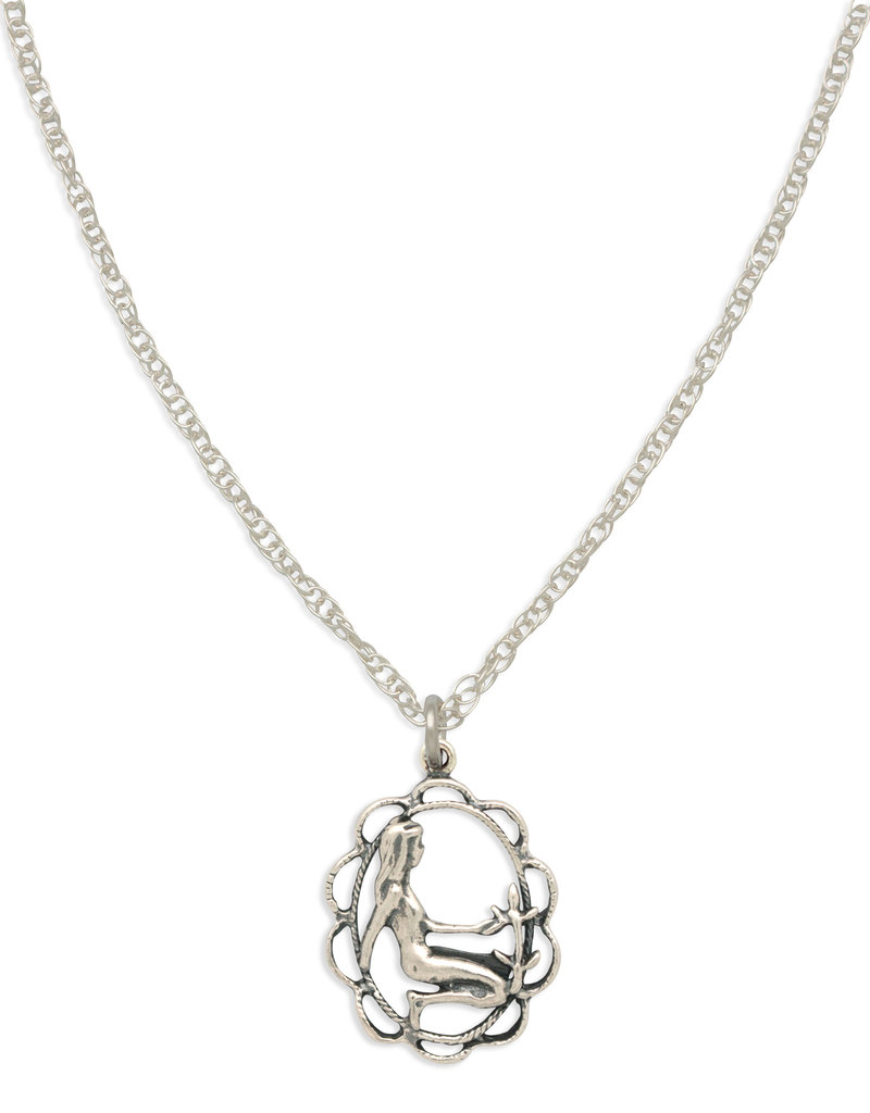 Hiouchi Jewels ZODIAC CHARM NECKLACE ~ VIRGO