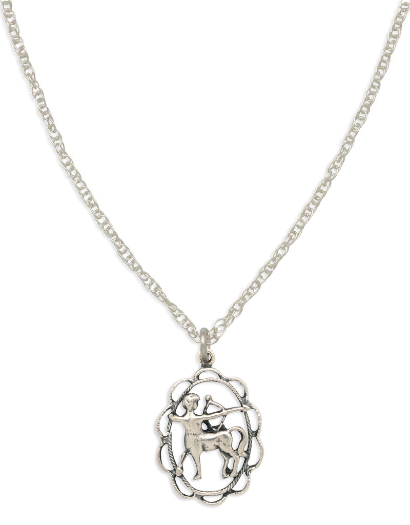 Hiouchi Jewels ZODIAC CHARM NECKLACE ~ SAGITTARIUS