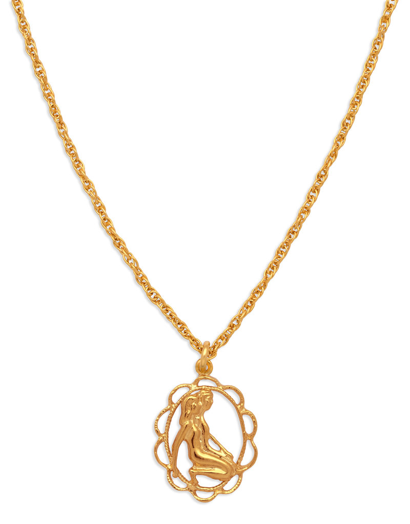 Hiouchi Jewels ZODIAC CHARM NECKLACE ~ GEMINI