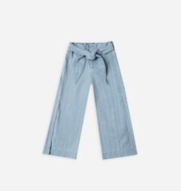 Rylee + Cru Wide Leg Pant Dusty Blue