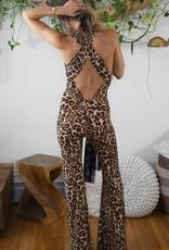 Temple Ro Belle Jumpsuit Jaguar Print