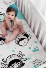 Rookie Humans Dive In Organic Crib Sheet
