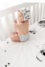 Rookie Humans Frieda & The Balloon Organic Crib Sheet