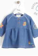Bonnie Mob Printed Denim Dress Kids