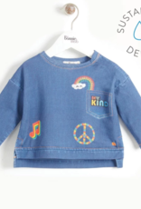 Bonnie Mob Printed Denim Sweatshirt Kids