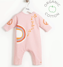 Bonnie Mob Peace Dove Playsuit Pink