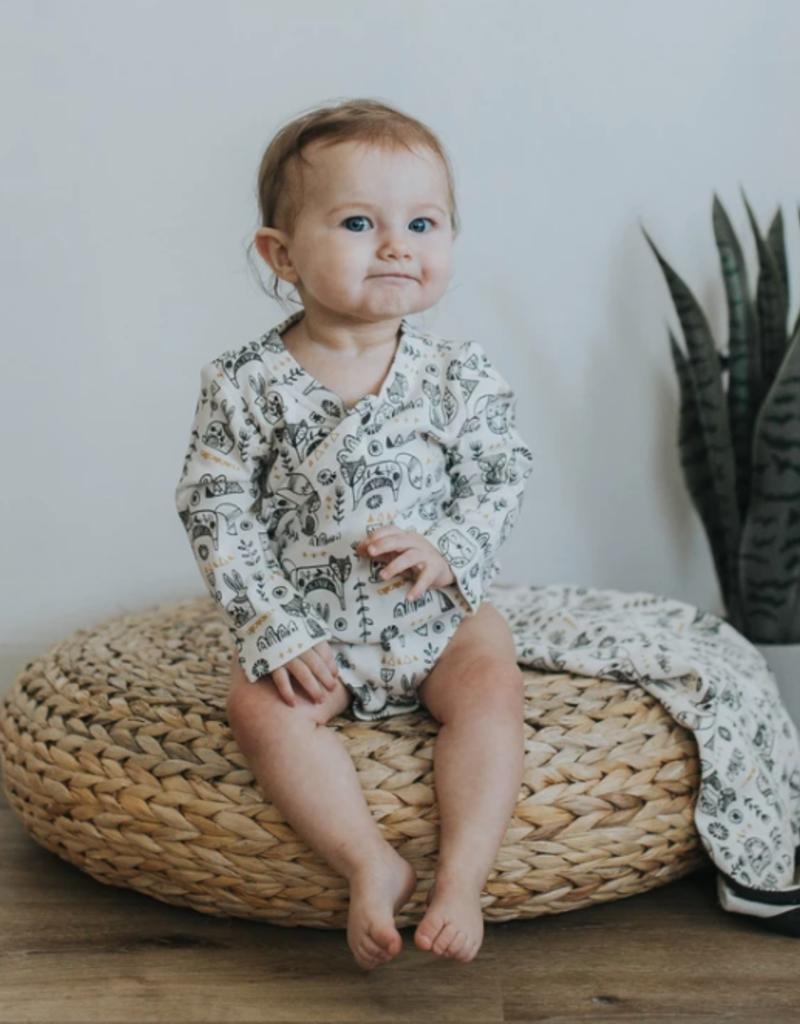 Finn + Emma L/S Bodysuit - Hygge Print