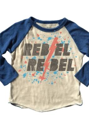 Rowdy Sprout Rebel Rebel Raglan Tee