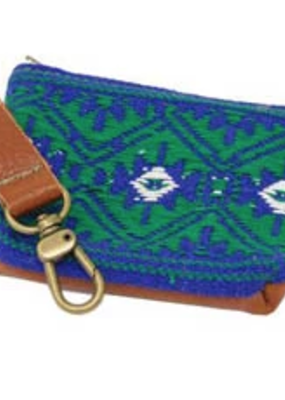 Salvage Maria Salvage Maria Poop Pouch Mayan Green/Blue