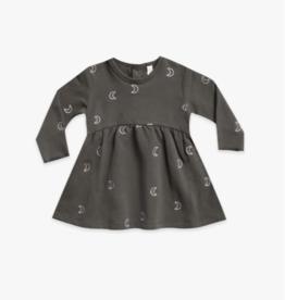Quincy Mae Fleece Dress.coal