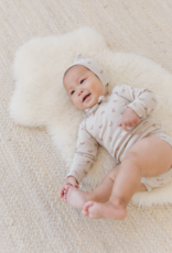 Quincy Mae Ribbed l/s Onesie.stone