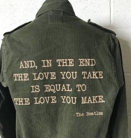 Stash Style Beatles Military Jacket - S/M