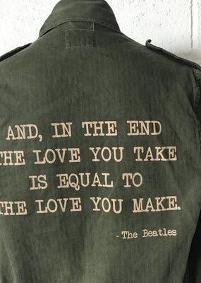 Stash Style Beatles Military Jacket - S/M