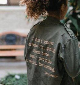 Stash Style Bowie Military Jacket - S/M