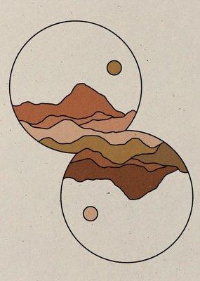 colorbloKC Deeper Reflection Print