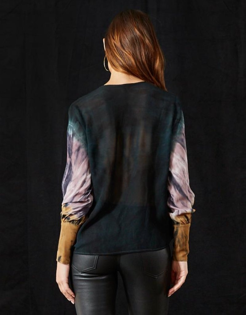 YFB  Clothing Jonnie Top Emerald