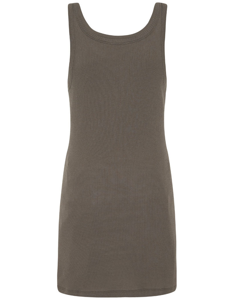 Spell and the Gypsy Collective Eagle Angel Organic Singlet Dress - Charcoal