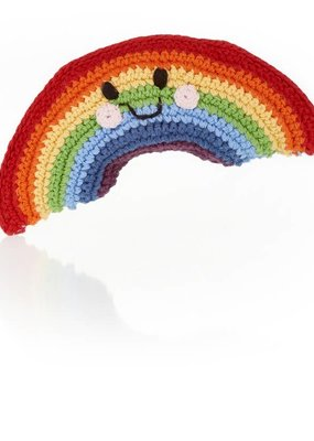 Pebble Friendly Rainbow Rattle