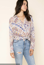 Raga LA Romina Button Down - Multi
