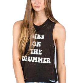 Mamie Ruth Dibs on the Drummer Tank