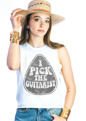 Mamie Ruth Pick the Guitarist Tank