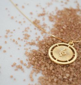 Harper Made Snake Medalion Necklace