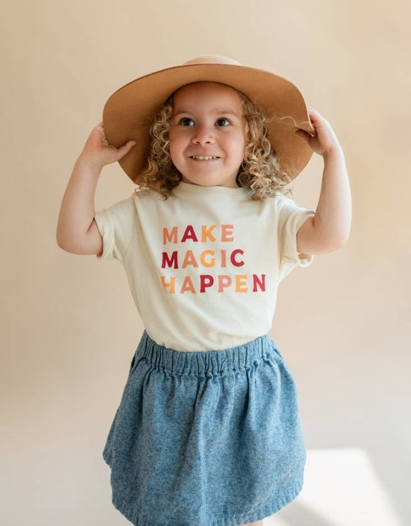 Polished Prints Make Magic Happen Tee