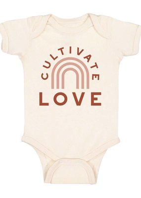 Polished Prints Cultivate Love Bodysuit