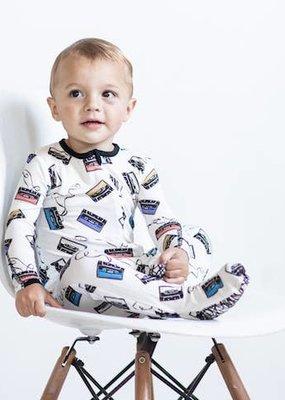 Peregrine Kidswear Cassettes Bamboo Footed Sleeper