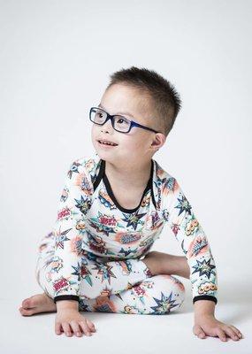 Peregrine Kidswear Comic 2-Piece Bamboo Pajama Set