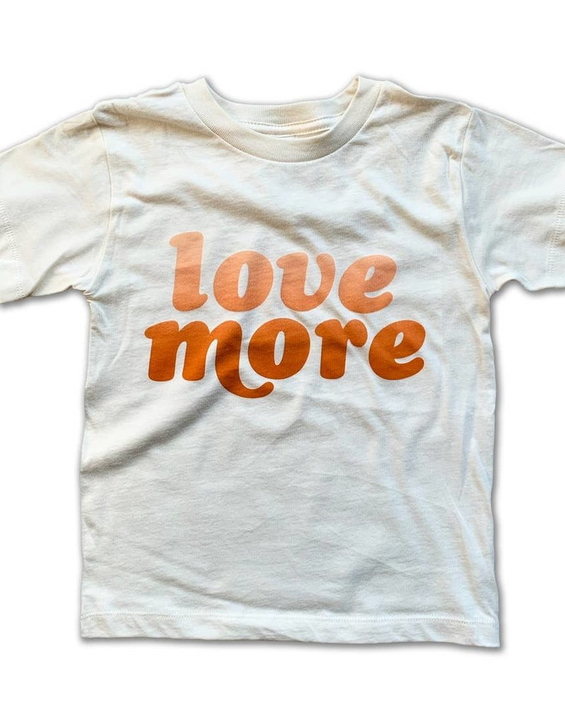 Rivet Apparel Co. Love More Tee