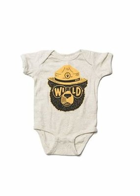 Keep Nature Wild Wildbear Onesie Natural