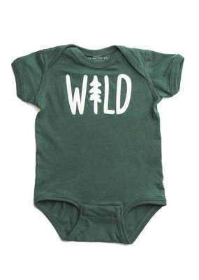 Keep Nature Wild Wild Pine Onesie - Forest