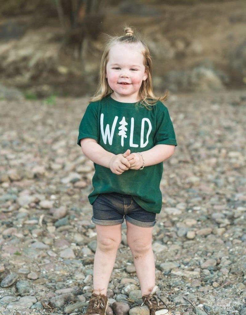 Keep Nature Wild Wild Pine Toddler Tee - Forest
