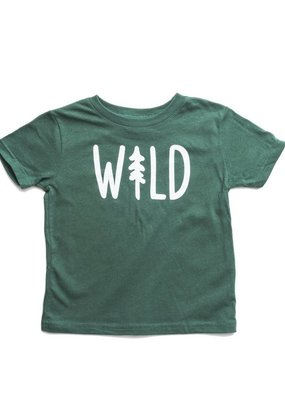 Keep Nature Wild Wild Pine Toddler Tee - Forest