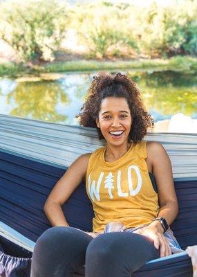 Keep Nature Wild Wild Pine Women's Muscle Tank - Pollen