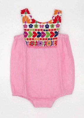 cheeni Layla Bubble - pink stripe